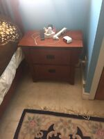 Bedroom dresser and night stand