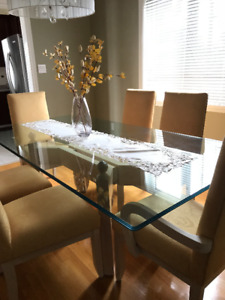 Luxury Dining Room Set (Table/Chairs/Cabinet)