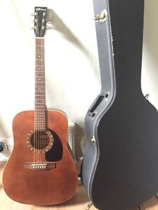 Norman Guitar & hard shell case for sale