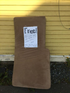Free couch cushion!