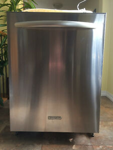 "Used 24"" KITCHEN AID DISHWASHER"