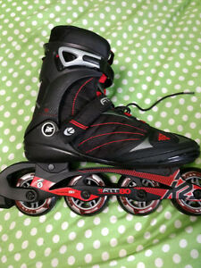 Barely used K2 Fit 80 rollerblades