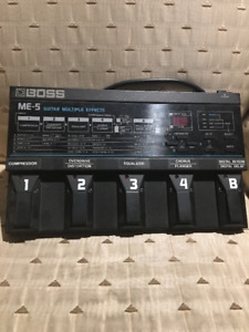 Boss ME-5 Multi Effects Pedal *Negotiable*