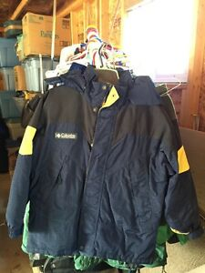 Boys winter jacket Columbia 10-12
