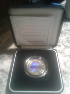 Gold Worldcup rugby coin