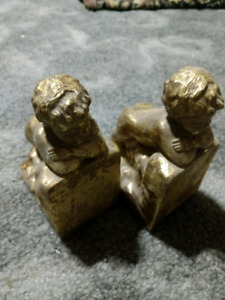 Cherub Golden book ends