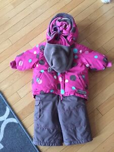 12-24 month Girls winter coat and pants