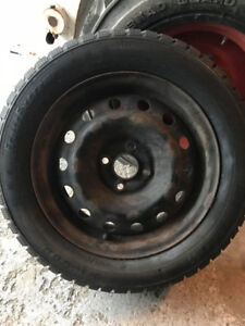 Honda Civic Winter Rims and Tires
