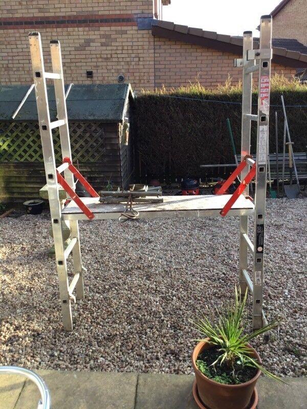 Portable scaffold