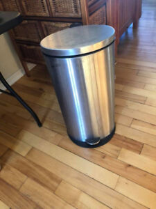 Stainless Step On Trash Can