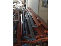 Pallet racking cross beams job lot