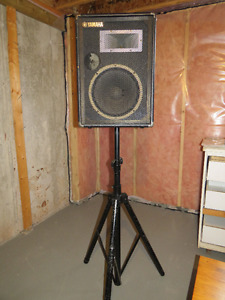 Speakers on Stands