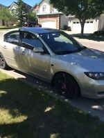 2007 Mazda 3 low km and upgraded!