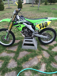 2006 Kawasaki kx250f for sale.