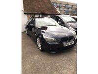 Bmw 525d m sport auto/carbon black/px welcome