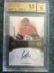 Carte de hockey Carey Price Recrue SP Authentic Sign of The Time