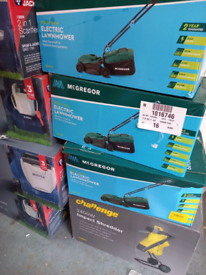 Garden Outdoor tools. Lawnmowers. Grass & Hedge trimmers. ENQUIRE pric