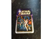 Limited edition start wars playing cards