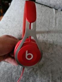 Dr dre headphones red