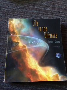 Astronomy Textbook - Life In the Universe London Ontario image 1