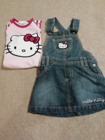 6-9 months Hello Kitty baby girl outfits