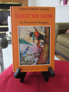VINTAGE Blacky the Crow by Thornton Burgess  Great copy
