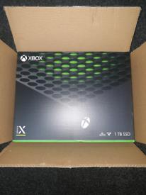 XBOX SERIES X 1TB BRAND NEW SEALED