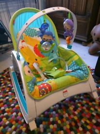 Fisher Price Newborn to Toddler Rocking Chair