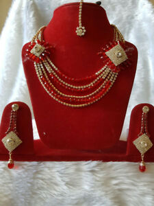 INDIAN STYLE NECKLASE SET $ 10 TO $15