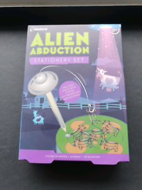 Alien Abduction Stationary Set Fun Toy Gift Idea Office School
