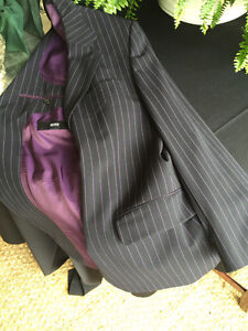 PRICE REDUCTION BOSS Pinstripe Suit, suitable for any occasion !
