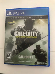 Call of Duty Infinity war + COD Remastered