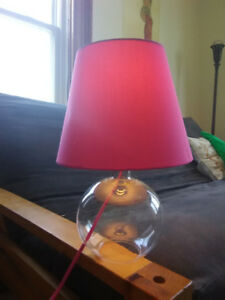 Pink Table Lamp