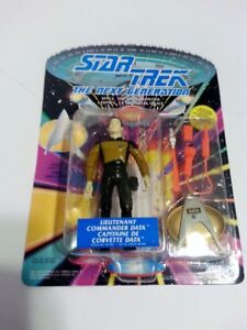 "STAR TREK THE NEXT GENERATION ""LIEUTENANT COMMANDER DATA"" 1992"