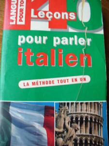 Dictionnaire et cours de langue italien