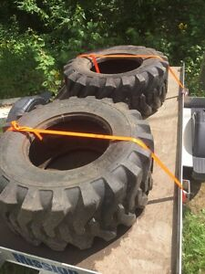 Tires for tractor  15 x 19.5