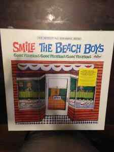 """The Beach Boys Smile Box Set 5 cds, 2 - 12"""" and, 2 - 7"""" records"""