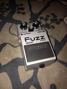 Boss FUZZ ! 75$ ou trade pour phaser, univibe, reverb