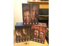 The X Files - Limited edition box sets of series four, five and six.