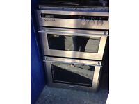 Cuisina silver in built oven