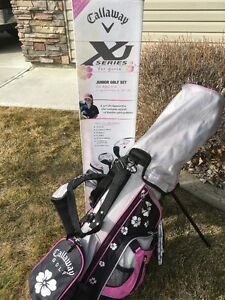 Girls Youth Left handed Callaway XJ Golf Clubs