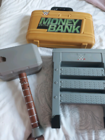 Wrestling toy bundle