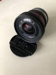 Rokinon CV12M-E 12mm T2.2 NCS CS - Sony E
