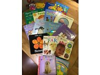 Collection of baby books