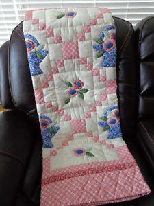 Handmade Lap Quilt for Sale