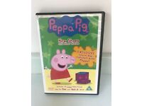 Peppa Pig DVD selection.