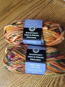 Loopy Threads: Brushstokes Sunrise
