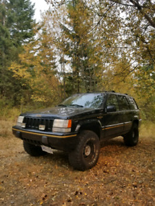 1995 Jeep Grand Cherokee 3inch lift on 33s
