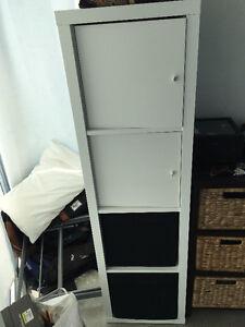 Ikea KALLAX White Shelf Unit