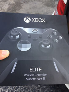 Brand new Xbox one elite controller $140 firm. 416-629-2407